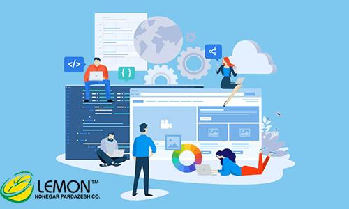 آموزش ورود اطلاعات در طراحی سایت